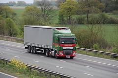 SM&T Wigham Tymparon Artisan 20th April 2017 (asdofdsa) Tags: hgv haulage transport trucks lorry m62 motorway tymparonartisan daf