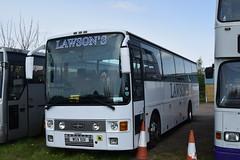 WSV 501 (markkirk85) Tags: corby buses bus volvo b10m62 vanhool alizee lawsons coaches unknown original registration wsv 501 wsv501 ex f39eeg e2kts b10m60 new kenzie shepreth 81989 f39 eeg e2 kts