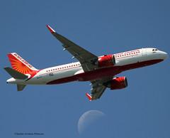 Air India. Flight Test. Airbus A320 NEO. (Jacques PANAS) Tags: air india airbus a320251nwl vtexg fwwdr msn7568