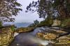 Purling brook Infinity (merbert2012) Tags: queensland australia night longexposure lightpainting water creeks purlingbrookfalls waterfalls clouds nikond800 earlymorning travel nikon