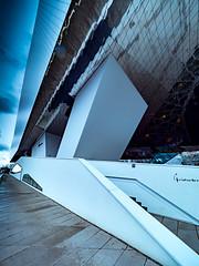 Porsche museum Detail (rainerralph) Tags: olympus deutschland badenwürttemberg porschemuseum stuttgartzuffenhausen deluganmeisslassociatedarchitects omdem1markii porsche architecture zuffenhausen architektur stuttgart objektiv714pro germany