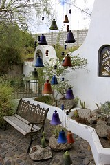 Las Casas del Pérez (oxfordblues84) Tags: lascasasdelperez ecuador oat overseasadventuretravel house latacungacotopaxiecuador latacunga bells windchimes bench cactus artwork lascasasdelpérez