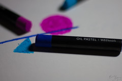 Oil Pastels (BeckiGroves) Tags: 365the2017edition 3652017 day112365 22apr17