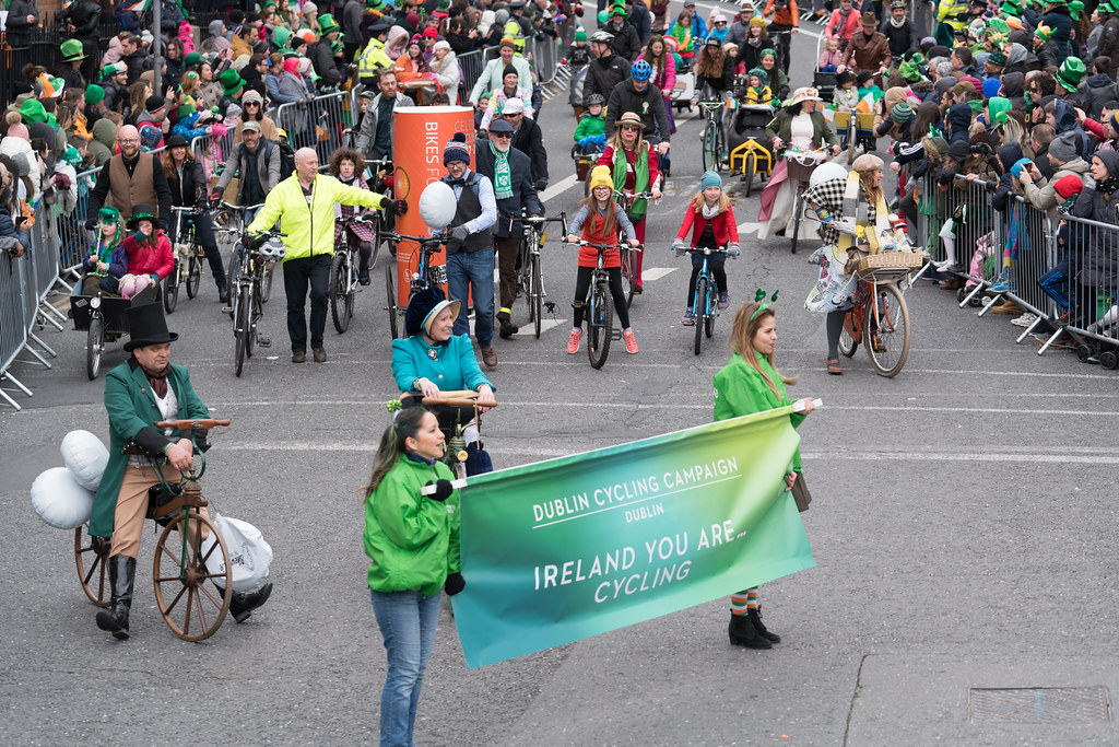 DUBLIN CYCLING  CAMPAIGN [ ST PATRICKS DAY PARADE 2017]-125812