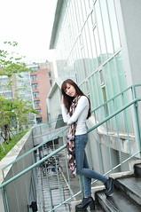喬喬1012 (Mike (JPG直出~ 這就是我的忍道XD)) Tags: 喬喬 台灣大學 d300 model beauty 外拍 portrait 2013