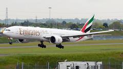 A6-EBL (hartlandmartin) Tags: a6ebl emirates boeing 777300er bhx egbb birmingham elmdon landing aircraft airline airport aeroplane jet flight aviation plane transport nikon d300 sigma 120400os