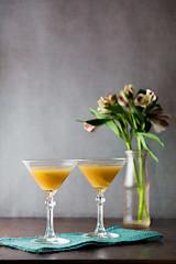 Japanese Cocktail (Pamela Greer) Tags: japanesecocktail bitter brandy cocktails lifestyle orgeat