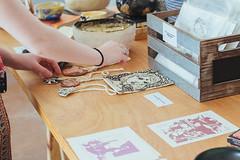 IMG_8272 (ahcordes) Tags: grand rapids art studio gallery cerasus pottery print design cat artist portrait vscofilm canon