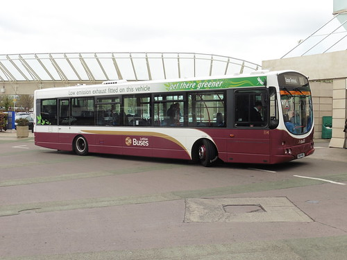Lothian Buses 114 at Gyle Centre