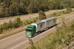 Trucks (kurtisslomka) Tags: pics photos green horsepower trucks truck highway australia rig roadtrain road