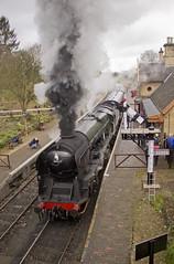 WC no.34027 'Taw Valley' (alts1985) Tags: bob no34053 sir keith park wc no34027 taw valley arley severn railway spring steam gala svr train worcestershire shropshire 170317 180317