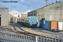 4105 at Inchicore, 31/3/17 (hurricanemk1c) Tags: railways railway train trains irish rail irishrail iarnród éireann iarnródéireann dublin inchicore 2017 caf mark4 intercity 4105