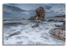 The Rock (Steven Peachey) Tags: seascape sea sky clouds water rock shotrock easington northeastcoast northeastengland uk england canon6d ef1740mmf4l leefilters lee09gnd manfrotto coast canon coastline stevenpeachey lee06gnd lightroom countydurham