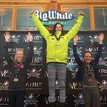 Big White Western Ski Cross Finals U12 WOMEN - RACE 1 PHOTO CREDIT: Todd Cashin