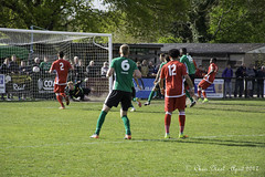 Burgess Hill Town FC 2 Merstham FC 1 22.04.2017 (CNThings) Tags: samfisk burgesshill sussex cnthings nikon d7100 winner goal football merstham chrisneal net goalkeeper header grass pitch match