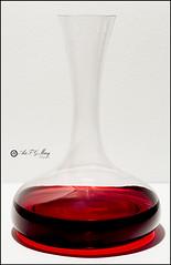 Proyecto 114/365 (Art.Mary) Tags: rojo rouge red bodegón stilllife naturemorte proyecto365 cristal crystal verre decantador canon decanter carafe glass