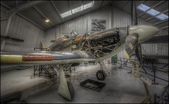 Hawker Sea Hurricane (Darwinsgift) Tags: hawker sea hurricane war museum aviation aircraft hdr photomatix carl zeiss 15mm distagon zf f28 t nikon d810 shuttleworth collection old warden bedfordshire
