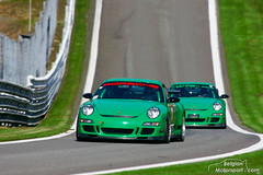 Porsche 997 GT3 RS (belgian.motorsport) Tags: porsche 997 gt3 rs francorchamps days 2010 green