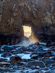 Pfeiffer Beach 7.jpg (leshapiro) Tags: bigsur pfeifferbeach beach sunset rocks waves hdr