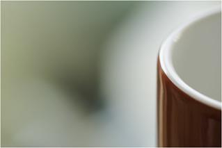 Macro Mondays - Glaze - Red Mug