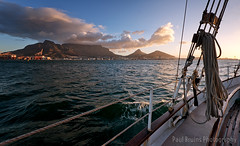 Spirit of Victoria (Panorama Paul) Tags: paulbruinsphotography wwwpaulbruinscoza southafrica westerncape capetown tablemountain tablebay waterfrontadventures spiritofvictoria gaffriggedschooner sailing ocean sunset clouds nikond800 nikkorlenses nikfilters