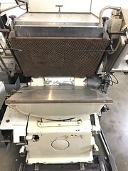 BRAUSSE 750 Die Cutter Foil for Sale (5) (Rowley Press) Tags: hot foil letterpress diecutting diecutter hotfoil machinery horsetrader printing print packaging presentation folder presentationfolder