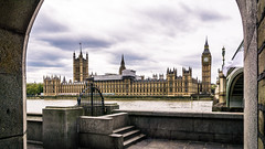 Westminster palace-1 (CHCaptures) Tags: architektur cityscape london sony westminsterbridge a6000 bigben city clouds ilce6000 oldbuilding palace river themse voigtländer15mm westminster