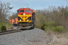 Kcs 3948 on the IVNKC. (Machme92) Tags: kansascity kcs railroad railfanning railroads railfans rails rail row railroading railfan trains tracks american america nikon nikond7200 sky