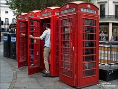 Phone booths (Melchita) Tags: streetphotography street streetcolor streetphotographycolor streetscenes colorphotography urbanphotography urbanlife urbanscenes london melchita