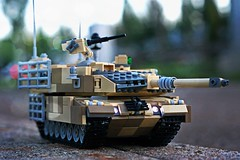 """""""The time is nigh - press the advance"""" (Connor Querin) Tags: lego tank mbt afv armour armor leopard 2 outdoors abs"""