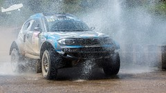 Pedro Ruivo & Nuno Rodrigues da Silva (P.J.V Martins Photography) Tags: bmw series1 proto todooterreno car allroad racingdriver racing terrain allterrain rally rali outdoors portugal loulé 4x4 4wd carro vehicle wet water