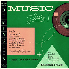 Bach Partita 6 • Prelude & Fugue in G • Prelude & Fugue in g - Remington 1 (sacqueboutier) Tags: vintage vinyl vinyllover vinylcollection vinylnation vinylcollector lp lplover lps lpcollection lpcover lpcollector lpcoverart records record discs classical classicalmusic music remington