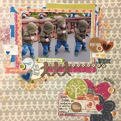 This is your day to Shine! (girl231t) Tags: 2016 paper layout scrapbook 12x12layout