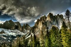 HDR Landscape (Strocchi) Tags: hdr catinaccio valdifassa landscape neve snow canon 6d 24105mm paesaggio mountain sky cielo montagna alpi alps