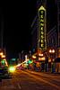 Tennessee Theater 2 (John C. House) Tags: streetlights night nikon d700 hdr knoxville tennesseegaystreet johnchouse city aurorahdr lowlight tenesseetheater everydaymiracles nik