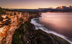 North Head Sunrise.jpg (Orange Orb Photography) Tags: ocean sydney northhead sunrise longexposure cliff headland