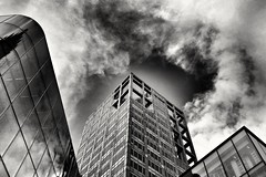 2017-04-24_09-37-56 (jumppoint5) Tags: light shadow blackandwhite urban city perspective clouds reflection