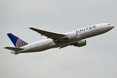 """United Airlines N777UA Boeing 777-222 cn/26916-7 """"2477"""" @ EDDF / FRA 19-09-2016 (Nabil Molinari Photography) Tags: united airlines n777ua boeing 777222 cn269167 2477 eddf fra 19092016"""