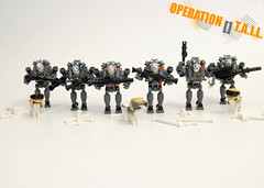 OPERATION [] T.A.I.L. - Husky Mechs (NS LEGO Designs) Tags: nslegodesigns lego moc creation build mecha mechs husky huskies dogs suits device huskymechs weapons soldiers operationtail