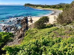 Pebbly Beach, From Second Head, Forster, Mid North Coast, NSW (Black Diamond Images) Tags: appleiphone7plus appleiphone iphone7plus iphone iphonepanorama panorama appleiphone7pluspanorama iphone7pluspanorama australia pebbleybeach forster midnorthcoast nsw greatlakesnsw australianbeaches beach sand sea ocean water bennettshead greatlakes greatlakesbeaches landscapes nswbeaches pebblybeach rockyshores secondhead thetanks beachscape landscape outdoor