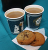 An army marches on its stomach. (ktmqi) Tags: newarkmuseum newark newjersey museum cookie coffee papercupchocolate chip food dessert snack