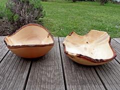 Holzschalen (onnola) Tags: koblenz rheinlandpfalz deutschland rhinelandpalatinate germany schale holz kunsthandwerk wood bowl