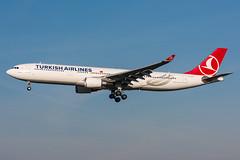 TC-JOE - Turkish Airlines - Airbus A330-303 (5B-DUS) Tags: tcjoe turkish airlines airbus a330303 a330300 a333 ams eham amsterdam schiphol international airplane airport aircraft aviation flughafen flugzeug planespotting plane spotting netherlands