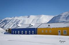 Siglufjörður (pixpeeper) Tags: pixpeeper canon7dmarkii snow iceland winter catchycolorsblue colors islande siglufjörður