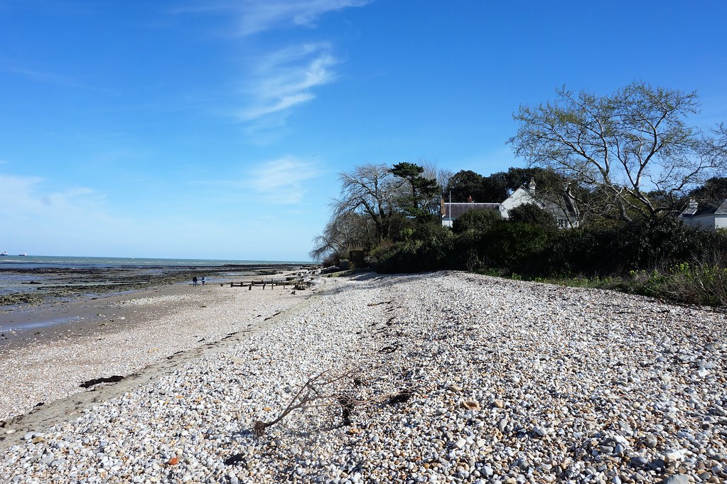 Beach at Bembridge 1