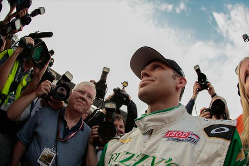 Ed Carpenter wins the pole