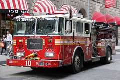 Picture Of City Of New York Fire Department  Engine Company 10 Located At 124 Liberty Street In Manhattan Right Near The World Trade Center Site. Photo taken Friday May 10, 2013 (ses7) Tags: new york city fire department of