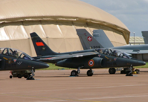 E10 Dassault-Breguet Dornier Alphajet E, French Air Force, RAF Fairford 14 July 2007