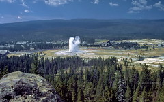 Old Faithful from Observation Point (Chief Bwana) Tags: 35mm oldfaithful yellowstonenationalpark yellowstone wyoming geyser nationalparks wy observationpoint psa104 chiefbwana