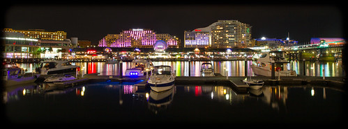Vivid Sydney 2013: Darling Harbour: Star City, Novotel and Convention Centre